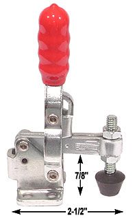 verticle toggle clamp