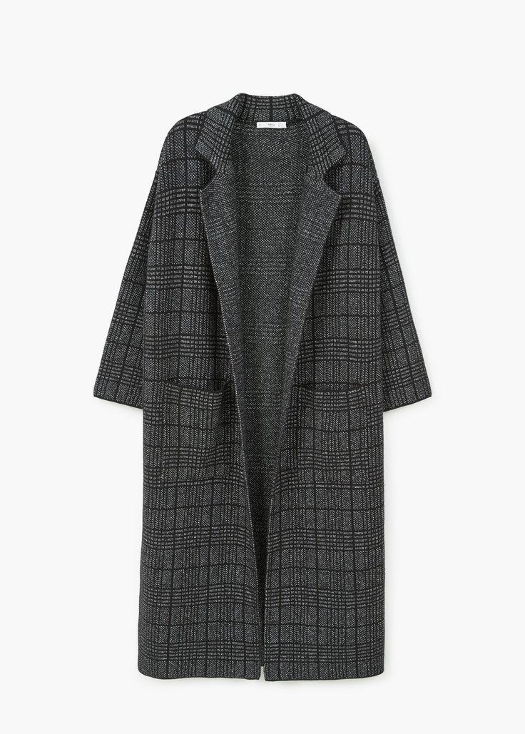 Cappotto lungo cotone   MANGO