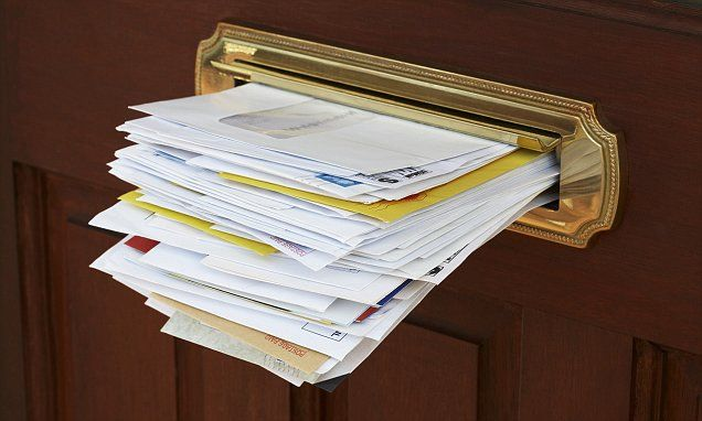 ICYMI: Playwright bombarded couple with junk mail