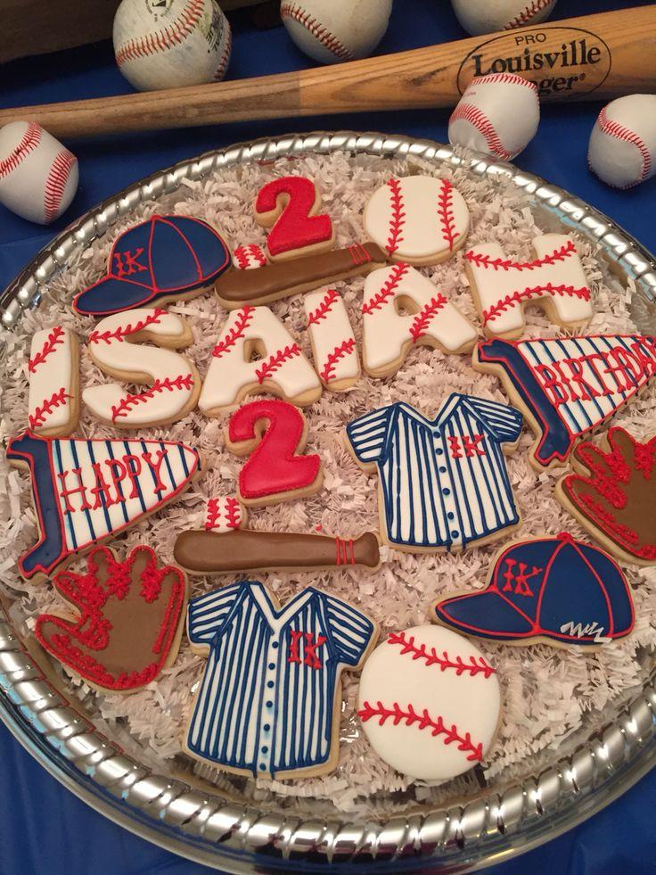 1000 Ideas About Baseball Cookies On Pinterest Baseball