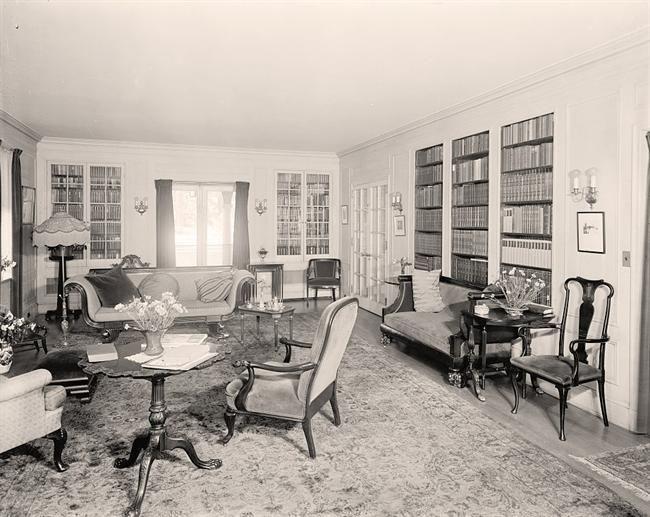 1920's  Living Room H I S T O R I C ~ I N T E R I O R S Classy Furniture Design Of Living Room Design Inspiration