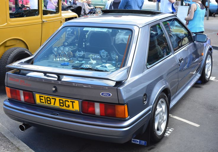 Ford Escort Mk4 RS Turbo Series 2 Cleveleys Car Show June 2014