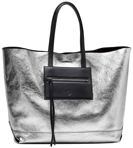 Elena Ghisellini - Borsa Tilda #borse #bags #fashion #silver