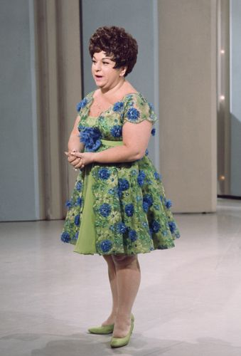 Totie Fields... back in the days of the Ed Sullivan Show.