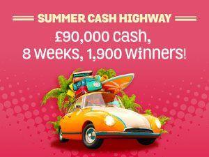 SPIN AND WIN CASINO - SUMMER CASH HIGHWAY! - UK Casino List