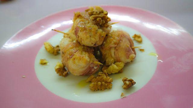 MAMMA MIA QUANTE RICETTE: Petto di pollo con pancetta ripieno di crema di fo...