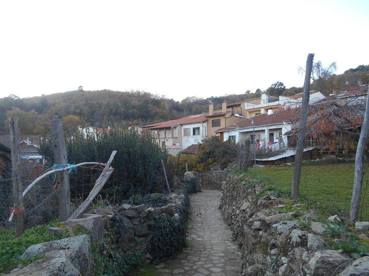 Villanueva del Conde. travesía