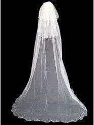 Long Wedding Veil 005