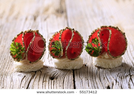 25 best images about food art on pinterest the ribbon for Canape dessert ideas
