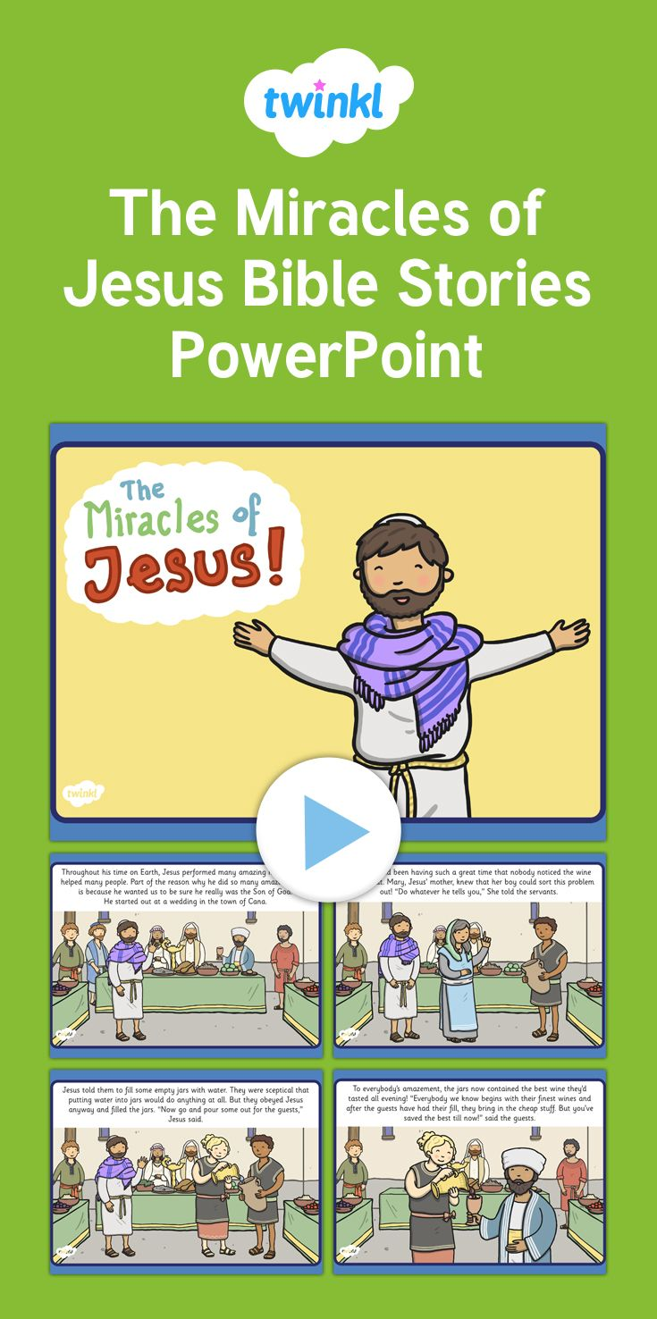 best ideas about great powerpoint presentations the miracles of jesus bible stories powerpoint tell the story of the miracles of jesus