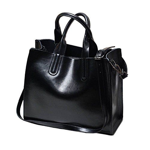 Vonder Women Genuine Leather Shoulder Tote Bag (Black) Vo... https://www.amazon.com/dp/B01GYIDXG4/ref=cm_sw_r_pi_dp_wT3xxbM0CZYS1