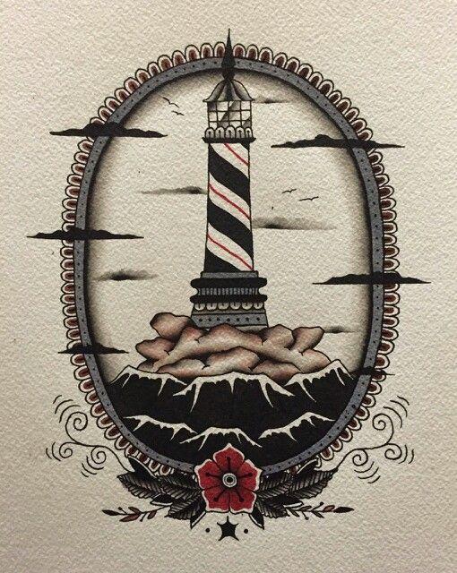 Light house tattoo                                                                                                                                                      More