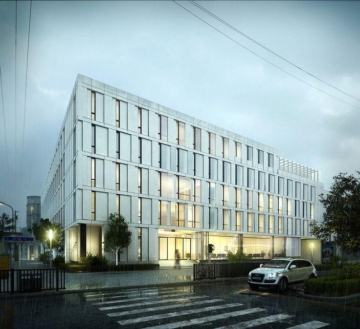 hospital by fangxu 1800px X 1649px