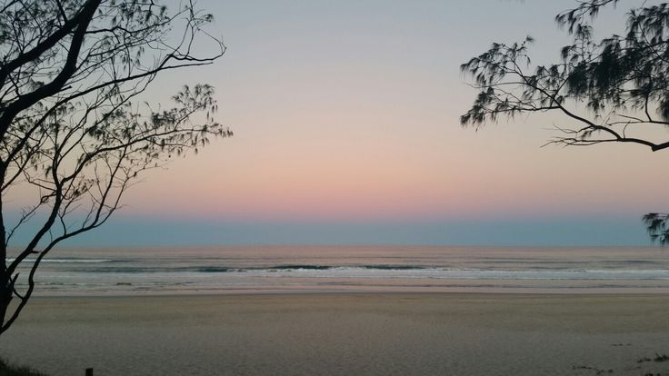 Sunset at Kingscliff