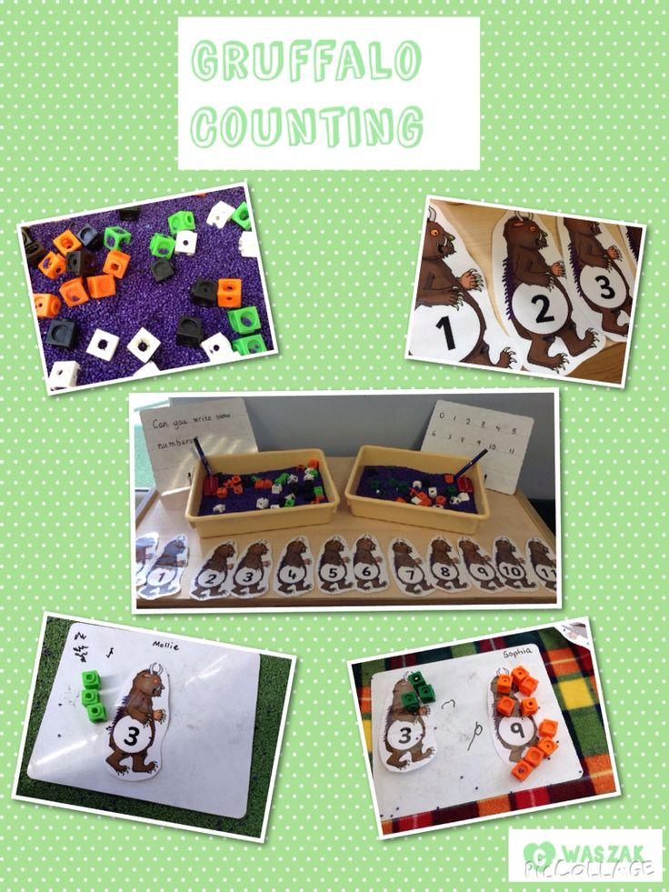 The Gruffalo - Preschool Activities and Crafts