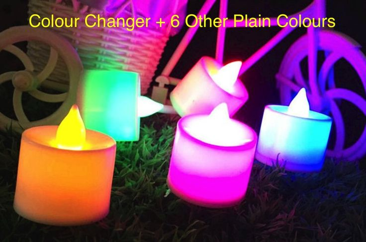 LED Flameless Tea Light Candles
