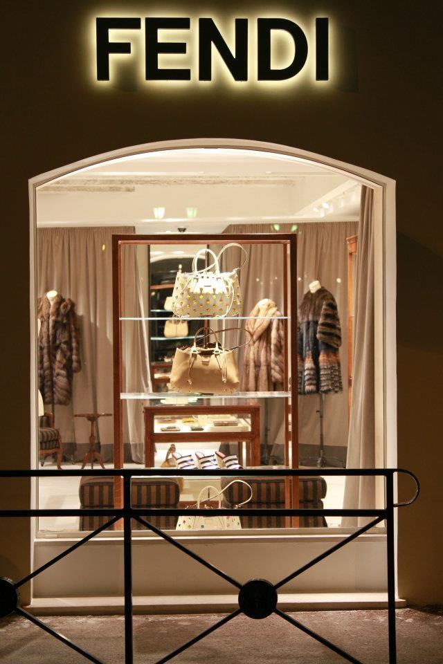 FENDI store in St. Tropez