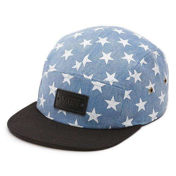 Vans Denim Stars Willa Camper Hat - Stars and Stripes for the 4th of July