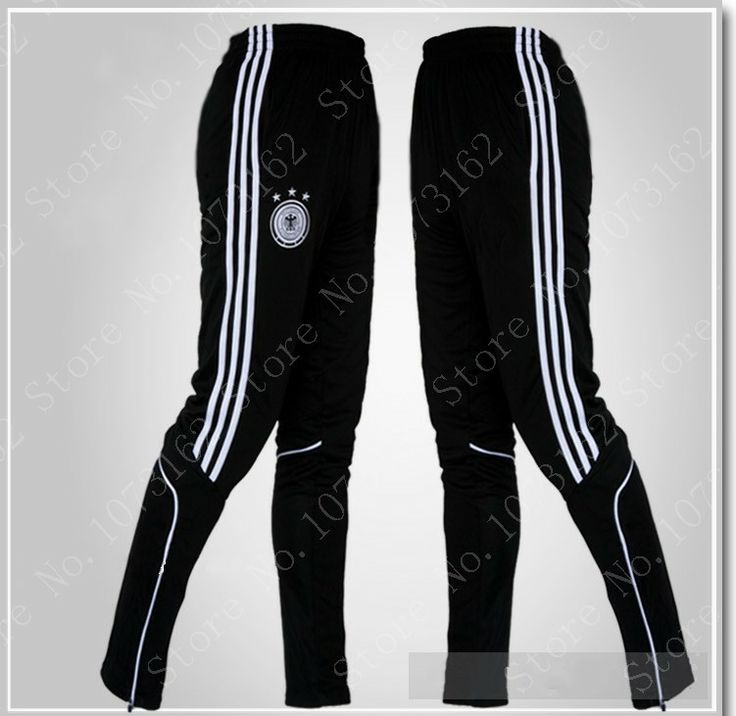 Germany Athletic Boy Sports Trousers Men Sweatpants Sportwear Men Soccer Football Pants Gym Jogging Training Waist Elastic $27.50
