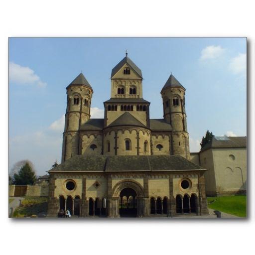 Abtei Maria Laach, Eifel, Germany Post Cards by NicolebPhotography on #Zazzle  starting at $0.95    #abtei #abbey #marialaach #eifel #rheinlandpfalz #germany #deutschland #architecture #religion #postcards