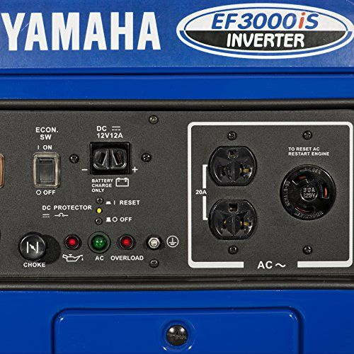 179 best portable inverter generators images on pinterest for Yamaha generator ef3000is