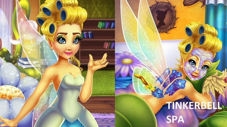Disney Tinkerbell। The Pixie Hollow Games। Tinkerbell Spa