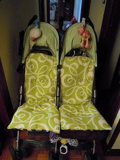 Kubaloo: Tengo el mejor tutorial para... colchonetas de verano para silla de paseo