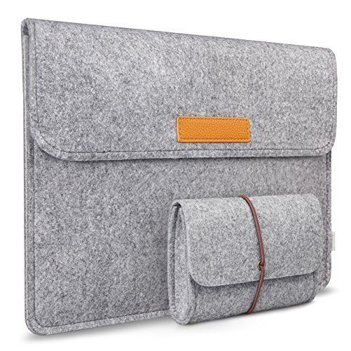 $13.99 Inateck 11-11.6 Inch Apple MacBook Air Sleeve Case Cover Ultrabook Netbook Tablet Bag Protective Carrying Case with Card Slot, Grey Inateck (other sizes available)