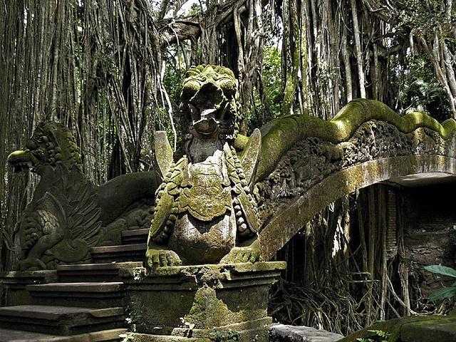 Dragon Bridge at Monkey Forest - Ubud, Bali