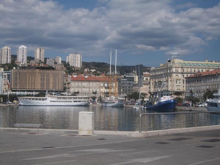Passenger port, Rijeka
