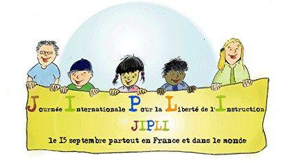 Journée Internationale Pour la Liberté de l'Instruction - Chaque année, le 15 septembre, de nombreuses manifestations (stands d'informations, conférences, tables rondes, etc.) sont organisées en France et dans le monde.