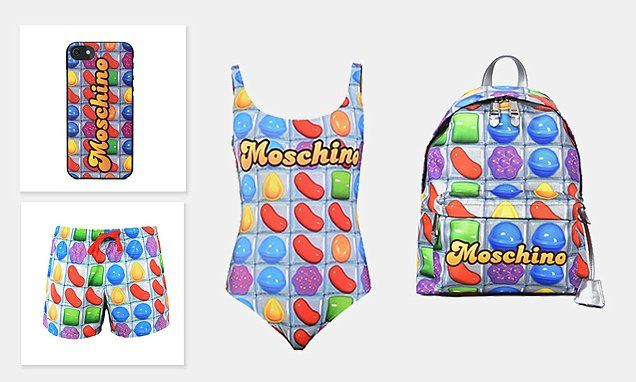 Moschino debuts new Candy Crush collection