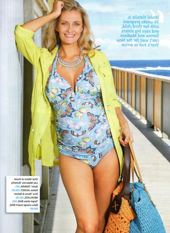 Our beautiful maternity tankini from Olian featured in Cosmopolitan Pregnancy Magazine.  Shop: http://www.sweetlillymaternity.com.au/all_categories.aspx
