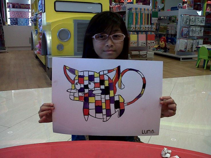 Luna - Piet Mondrian - Animal With Mondrian Twist @Gramedia Kids Bintaro