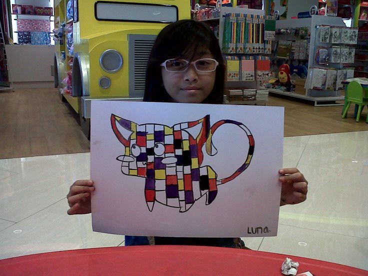 Luna - Piet Mondrian - Animal With Mondrian Twist @Gramedia Kids Bintaro