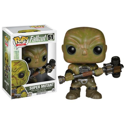 Super Mutant funko pop vinyl figure from the game Fallout #super_mutant #games…