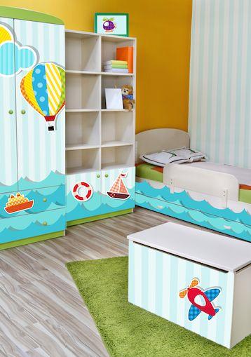 piękne okleiny meblowe w pokoju dziecięcym