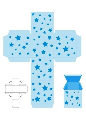 papírová krabičkqa šaqblona, adventní kalendář