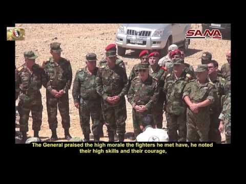 SAA Chief of Staff Inspects Syrian Armed Forces in Tadmor (Palmyra)