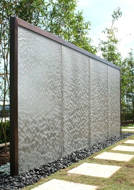 Outdoor Wall Fountain. Would love this-can it fit in the yard?!