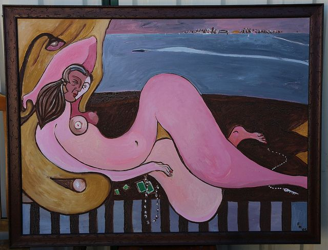 Reclining Nude and Speedboat | Flickr - Photo Sharing!