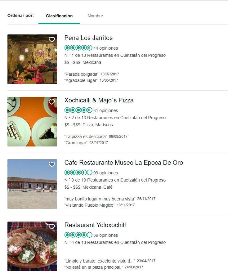 Lugares donde comer en Cuetzalán Puebla, PUeblo Mágico.
