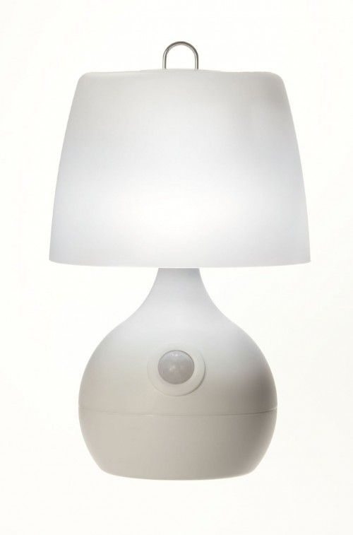 white hightech table lamps for bedroom