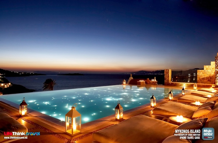 Mykonos Luxury Wallpeper