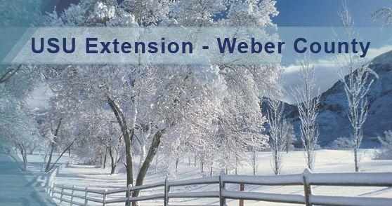 Weber County Extension - extension.usu.edu