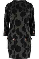 Ana Alcazar - jurk met speelse polkadot-print