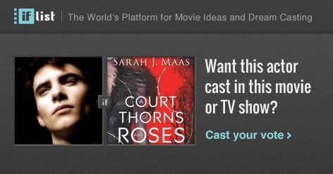 Harry Lloyd as Rhysand in A Court of Thorns and Roses? Support this movie proposal or make your own on The IF List.