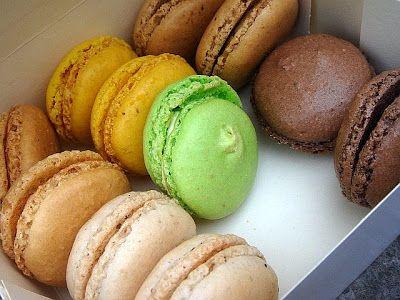 CHILI & VANILIA: Macaron recept