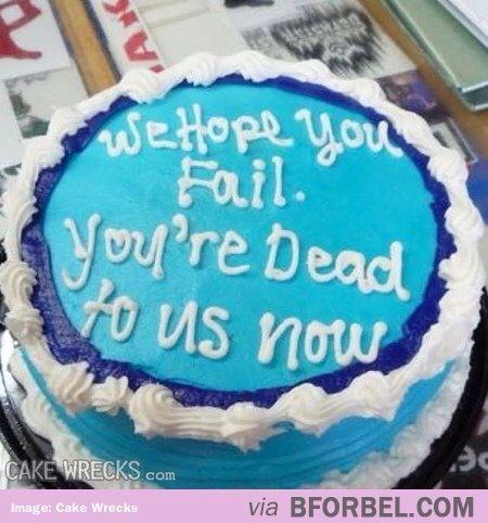 going away party cakes - hahahahahahahahahaahahaaaaaa