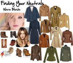 Finding your neutrals - warm blonde, wardrobe therapy, Imogen Lamport